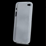 Skinny TPU Case - термополиуретанов калъф за iPhone 5, iPhone 5S, iPhone SE (прозрачен-мат) 2