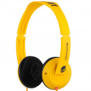 Skullcandy Uprock Yellow Headphones for iPhone and mobile devices