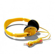 Skullcandy Uprock Yellow Headphones for iPhone and mobile devices 2
