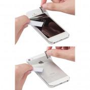 SwitchEasy Pure Matte - комплект защитни покрития за дисплея и задната част на iPhone 5, iPhone 5S, iPhone SE (4 броя) 6