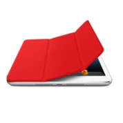 Apple Smart Cover Limited Edition - полиуретаново покритие за iPad Mini, iPad mini 2, iPad mini 3 (червен) 3