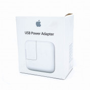 Apple 12W USB Power Adapter - оригинално захранване за iPad, iPhone, iPod (EU стандарт) (retail) 2