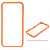 Protective Ultraslim Bumper - силиконов бъмпер за iPhone 5, iPhone 5S, iPhone SE (оранжев)