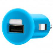 Belkin Mixit Car Charger 1Amp - зарядно за кола за мобилни тeлефони (син)