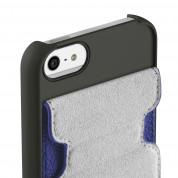 Belkin Snap Folio - кожен флип кейс за iPhone 5, iPhone 5S, iPhone SE (син) 2