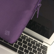 Tucano Mini Sleeve with handles for MacBook Air 11, Ultrabooks & netbooks (purple) 3