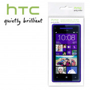 HTC SP P870 Screen Protector - защитно покритие за HTC Windows Phone 8X (два броя) 1