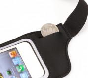 Tunewear Jogpocket - неопренов спортен калъф за iPhone и мобилни телефони (черен) 2