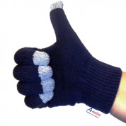 A-Solar Gloves Wool Size L black 1