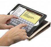 TwelveSouth BookBook - луксозен кожен калъф за iPad mini, iPad mini 2, iPad mini 3 (кафяв) 5