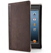 TwelveSouth BookBook - луксозен кожен калъф за iPad mini, iPad mini 2, iPad mini 3 (кафяв)