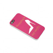 Sex And The City Stiletto Case - поликарбонатов кейс за iPhone 5, iPhone 5S, iPhone SE (лилав)