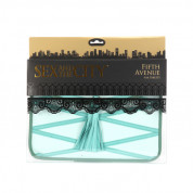 Sex And The City Fifth Avenue Tablet Sleeve - кожен калъф за iPad, нетбуци и таблети до 10 инча (син) 8