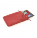 Tucano Mini Sleeve with handles - чанта с дръжки за носене за iPad и таблети до 10.2 инча (червен) 2