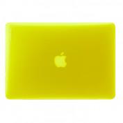 InCase Hardshell Case - предпазен кейс за MacBook Air 11 инча модел 2012 г. (жълт)