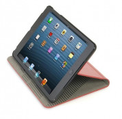 Tucano Micro Hard Case - кожен калъф и поставка за iPad mini, iPad mini 2, iPad mini 3 (червен) 2