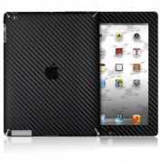 xGear ExoSkin Carbon - комплект карбоново фолио за iPad 4/3 (черен)