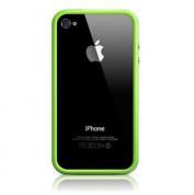 Apple iPhone 5, iPhone 5S, iPhone SE Bumper - силиконов бъмпер за iPhone 5, iPhone 5S, iPhone SE (зелен) 7