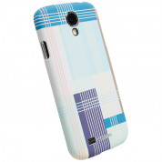 Krusell PrintCover Blue Block for Samsung Galaxy S4 i9500