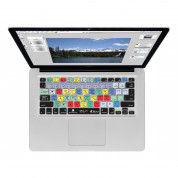 Photoshop CS6 QWERTY Keyboard Cover - силиконова обвивка за Adobe Photoshop CS6 за MacBook, MacBook Air и MacBook Pro
