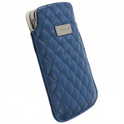Krusell Avenyn Mobile Pouch XXL for Samsung Galaxy S2, HTC Sensation, LG and smartphones (blue)