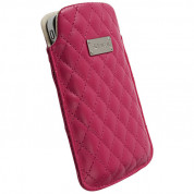 Krusell Avenyn Mobile Pouch XXL for Samsung Galaxy S2, HTC Sensation, HTC Desire 500, LG and smartphones (red)