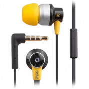 Zagg ZR-SIX Earbud Headphones with mic for iPhone and devices with 3.5 mm plug