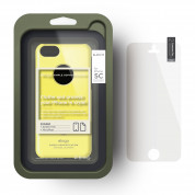 Elago C5 Slim Fit Case + HD Clear Film - кейс и HD покритие за iPhone 5C (жълт) 3