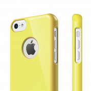 Elago C5 Slim Fit Case + HD Clear Film - кейс и HD покритие за iPhone 5C (жълт) 1