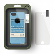Elago C5 Slim Fit Case + HD Clear Film - кейс и HD покритие за iPhone 5C (син-матиран) 3