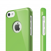 Elago C5 Slim Fit Case + HD Clear Film - кейс и HD покритие за iPhone 5C (зелен) 1