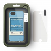 Elago C5 Slim Fit 2 Case + HD Clear Film - кейс и HD покритие за iPhone 5C (син-матиран) 3