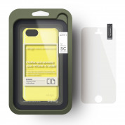 Elago C5 Slim Fit 2 Case + HD Clear Film - кейс и HD покритие за iPhone 5C (жълт) 3