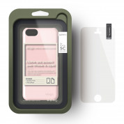 Elago C5 Slim Fit 2 Case + HD Clear Film - кейс и HD покритие за iPhone 5C (светлорозов) 3
