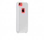 CaseMate Barely There - поликарбонатов кейс за iPhone 5C (бял) 1