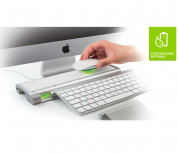 Mobee Magic Feet - безжично захранване за Apple Magic Mouse, Magic Trackpad или Keyboard  1