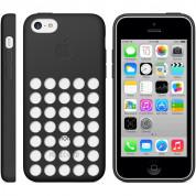 Apple iPhone Case - оригинален силиконов калъф за iPhone 5C (черен) 3