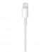 Apple Lightning to USB Cable 1m. - оригинален USB кабел за iPhone, iPad и iPod (1 метър) (bulk) 3