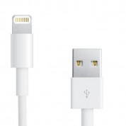 Apple Lightning to USB Cable 1m. - оригинален USB кабел за iPhone, iPad и iPod (1 метър) (bulk) 1
