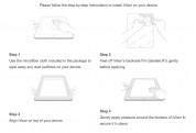Moshi iVisor AG - качествено матово защитно покритие за iPad Air, iPad 5 (2017) (бял) 4