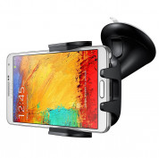 Samsung Universal Car Holder EE-V200 - оригинална поставка за кола за Samsung Galaxy S20, S20 Plus, S20 Ultra, S10, S10 Plus, S9, S9 Plus, Note 20, Note 10 и др. смартфони 11