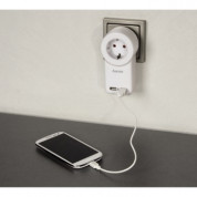 Hama Dual USB Socket Adapter with Switch 1A for iPhone, iPod and smartphones 3