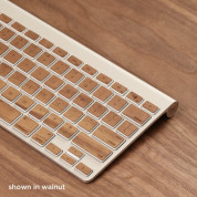 Lazerwood Apple Wireless Keyboard Wallnut - креативен скин от истинско дърво за Apple Wireless Keyboard (лешник) 1