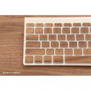 Lazerwood Apple Wireless Keyboard Wallnut - креативен скин от истинско дърво за Apple Wireless Keyboard (лешник) 2