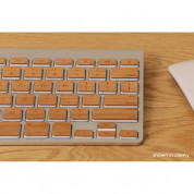 Lazerwood Apple Wireless Keyboard Wallnut - креативен скин от истинско дърво за Apple Wireless Keyboard (череша) 1