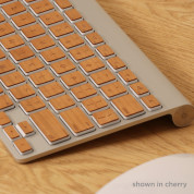 Lazerwood Apple Wireless Keyboard Wallnut - креативен скин от истинско дърво за Apple Wireless Keyboard (череша) 2