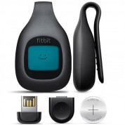 Fitbit Zip Wireless Activity Fitness Tracker - часовник следящ физическата ви активност за iOS и Android (тъмносив) 1