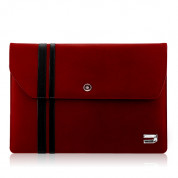 Urbano Leather Envelope Case for MacBook Air 11 in. (red)