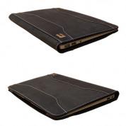 Urbano Leather Folder Case - кожен калъф (естествена кожа) за MacBook Air 11 (сив) 3