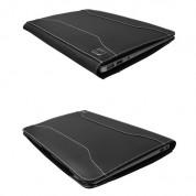 Urbano Leather Folder Case - кожен калъф (естествена кожа) за MacBook Air 13 (черен) 3